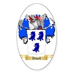 Attwell Sticker (Oval 50 pk)