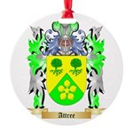 Attree Round Ornament