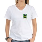Attock Women's V-Neck T-Shirt