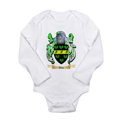 Attoc Long Sleeve Infant Bodysuit