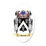 Attfield Oval Car Magnet