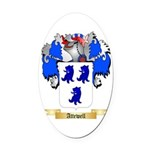 Attewell Oval Car Magnet