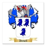 Attewell Square Car Magnet 3