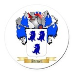 Attewell Round Car Magnet