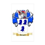 Attewell Sticker (Rectangle 50 pk)