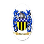 Atterbury Oval Car Magnet