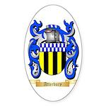 Atterbury Sticker (Oval 50 pk)