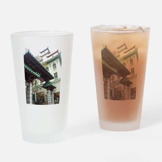 Chinatown, San Francisco Drinking Glass