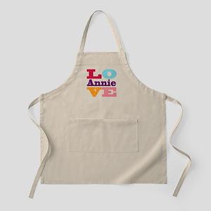 I Love Annie Apron