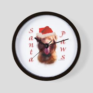 Santa Paws Nova Scotia Wall Clock