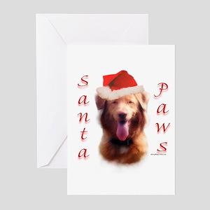 Santa Paws Nova Scotia Greeting Cards (Package of