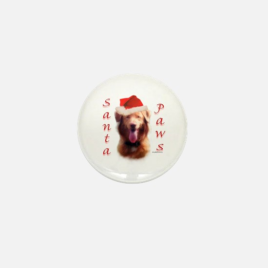 Santa Paws Nova Scotia Mini Button