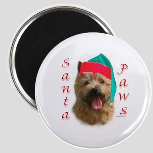 Santa Paws Norwich Terrier Magnet