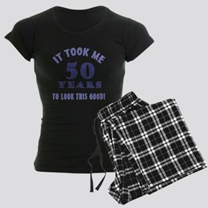 Hilarious 50th Birthday Gag Gifts Women's Dark Paj