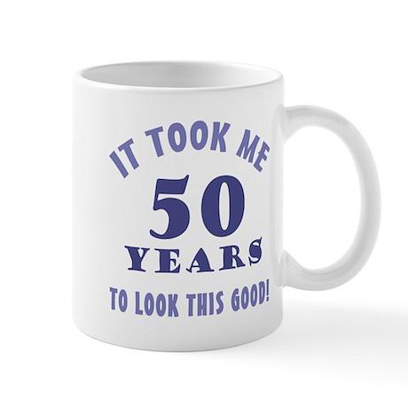 Hilarious 50th Birthday Gag Gifts Mug
