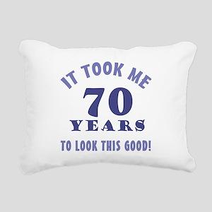 Hilarious 70th Birthday Gag Gifts Rectangular Canv