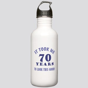 Hilarious 70th Birthday Gag Gifts Stainless Water