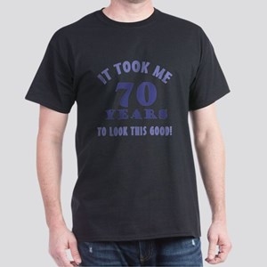 Hilarious 70th Birthday Gag Gifts Dark T-Shirt