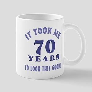Hilarious 70th Birthday Gag Gifts Mug