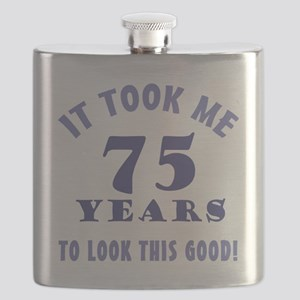 Hilarious 75th Birthday Gag Gifts Flask