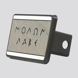 """Molon Labe"" Rectangular Hitch Cover"