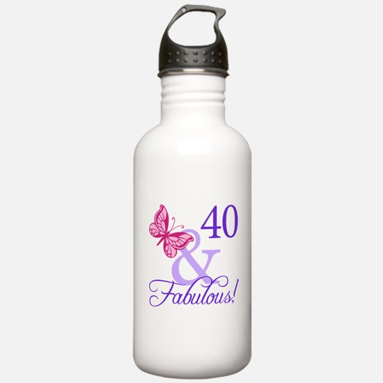 40 And Fabulous Water Bottle