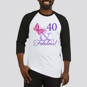 40 And Fabulous Baseball Jersey