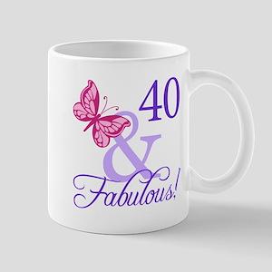 40 And Fabulous Mug