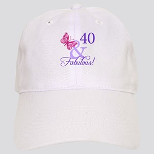 40 And Fabulous Cap