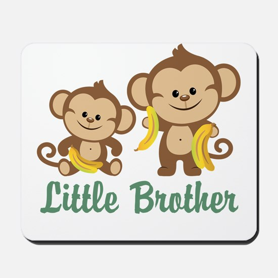 Little Brother To Be Monkey Mousepad