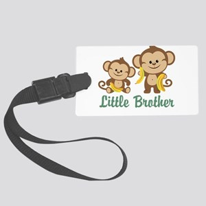 Little Brother To Be Monkey Large Luggage Tag