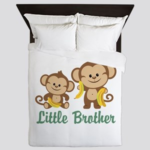 Little Brother To Be Monkey Queen Duvet