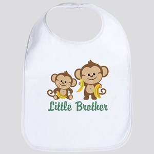 Little Brother To Be Monkey Bib
