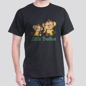 Little Brother To Be Monkey Dark T-Shirt