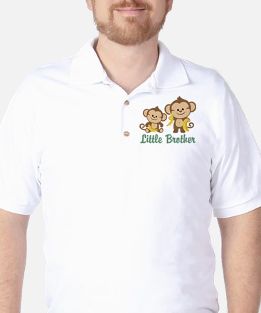 Little Brother To Be Monkey Golf Shirt