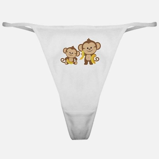 Little Monkeys Classic Thong