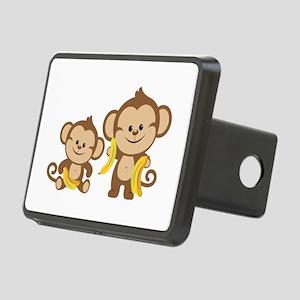 Little Monkeys Rectangular Hitch Cover
