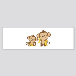 Little Monkeys Sticker (Bumper)