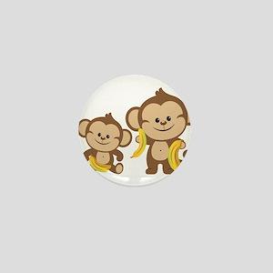 Little Monkeys Mini Button