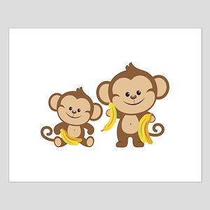 little monkeys small poster