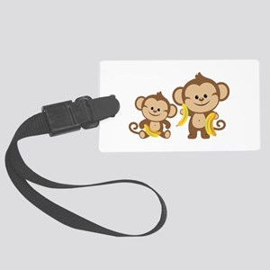 Little Monkeys Large Luggage Tag