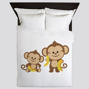 Little Monkeys Queen Duvet