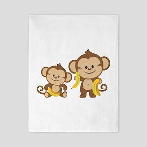 Little Monkeys Twin Duvet