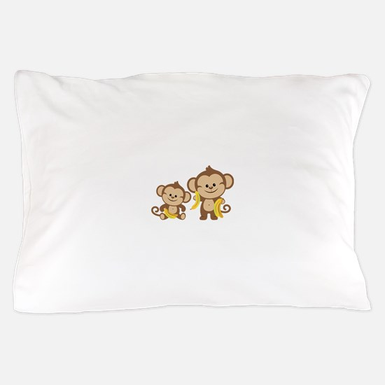 Little Monkeys Pillow Case
