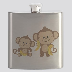 Little Monkeys Flask