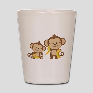 Little Monkeys Shot Glass