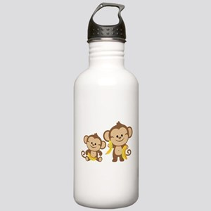 Little Monkeys Stainless Water Bottle 1.0L