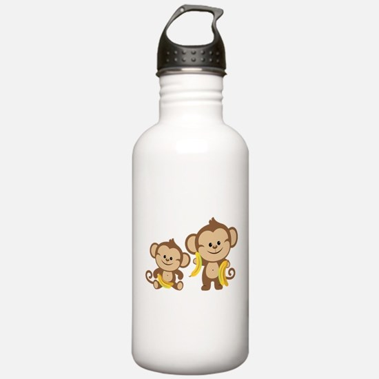 Little Monkeys Water Bottle
