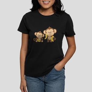 Little Monkeys Women's Dark T-Shirt