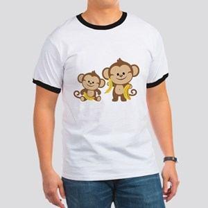 Little Monkeys Ringer T